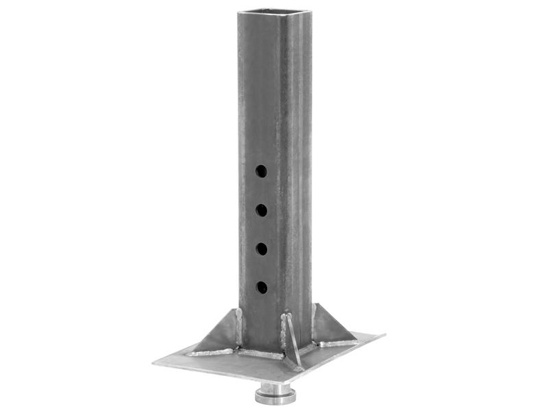 Bulldog Kingpin Gooseneck Coupler (Square Tube)