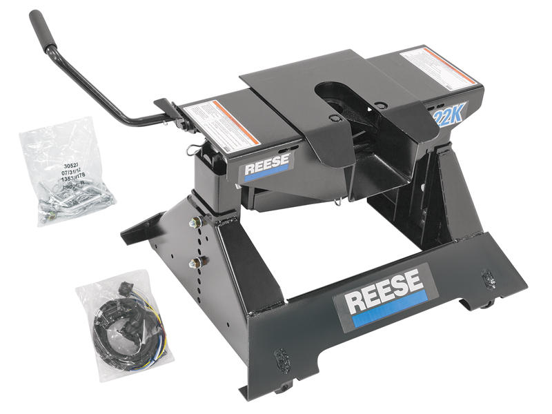 Reese 30033 Select Series 22K 5th Wheel Hitch with 7-Way Wiring Harness