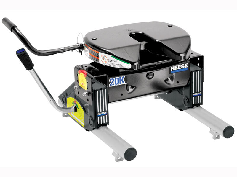 Reese 20k 5th Wheel Hitch With Round Slider Unit