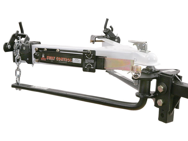 Husky Round Bar Weight Distribution Hitch Package - 1,200 lbs