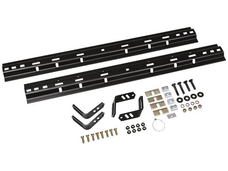 4-Bolt Universal Rail & Mounting Bracket Kit
