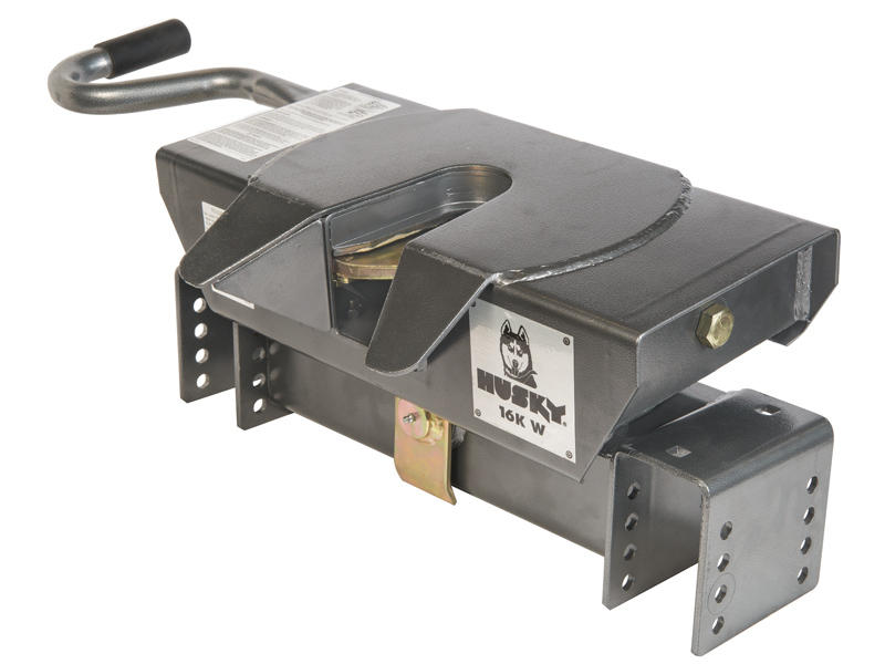 Husky 16K-W Silver Series Fifth Wheel Hitch Head Only