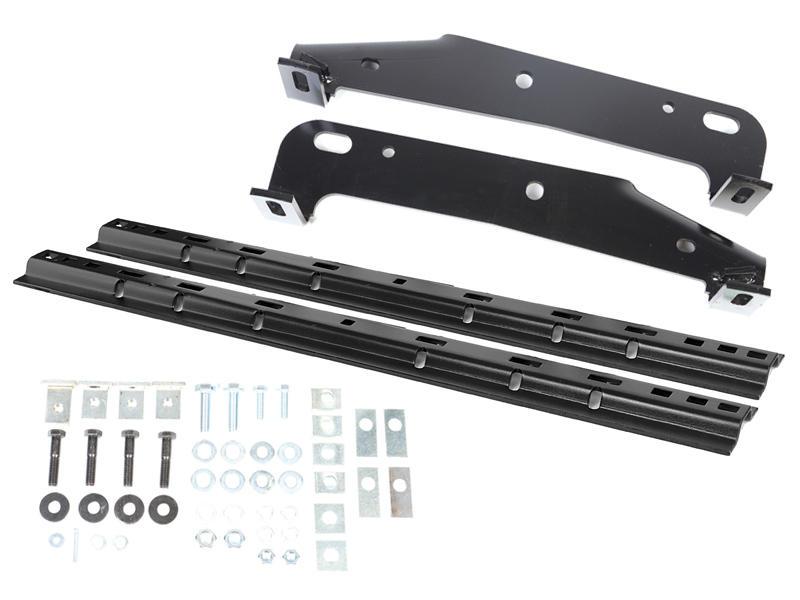 Husky Custom Bracket Install Kit With Rails