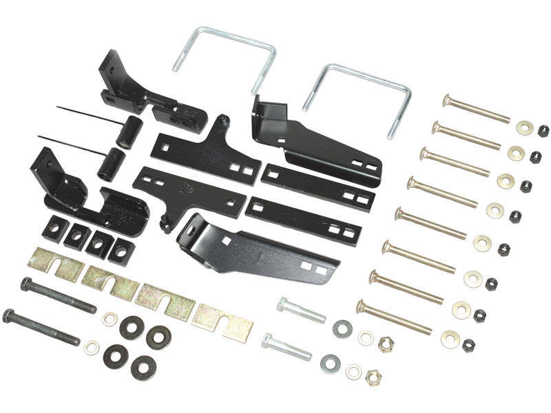 Husky Custom Bracket Install Kit