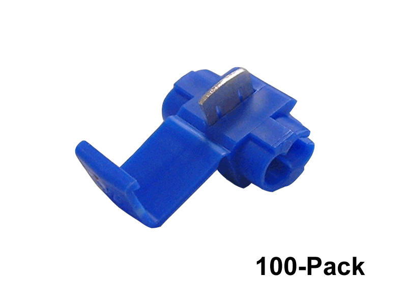 Blue 3M Wire Taps - 100 Pack