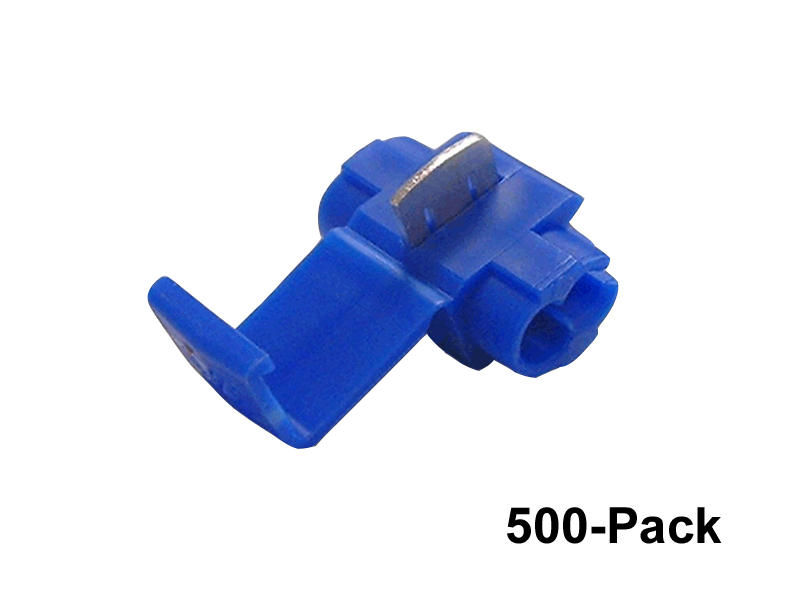 Blue 3M Wire Taps - 500 Pack