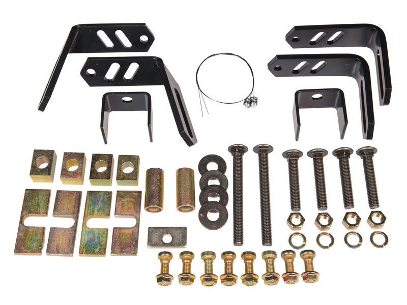 4-Bolt Universal Mounting Bracket Kit