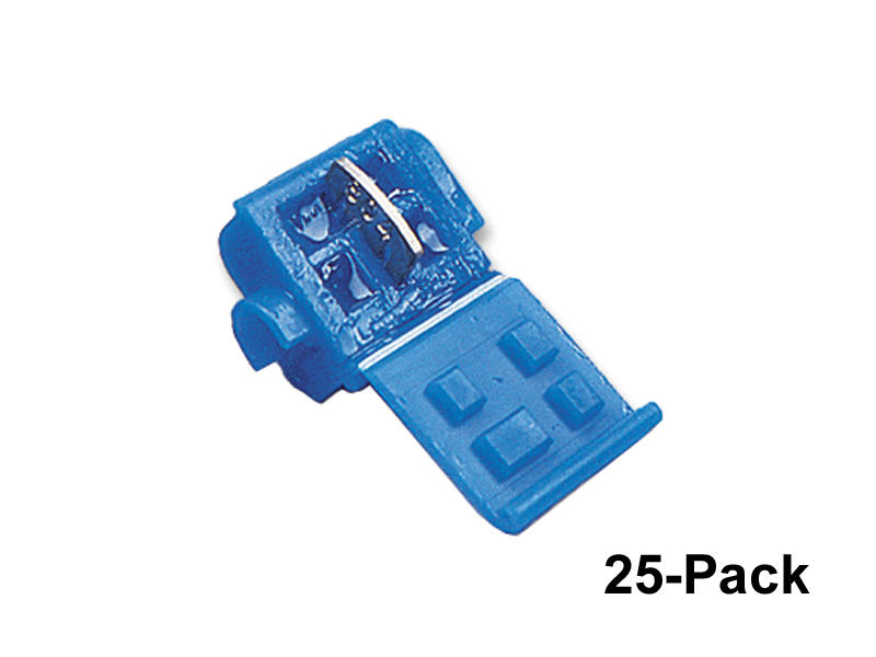 Blue 3M Moisture-Resistant Wire Taps - 25 Pack