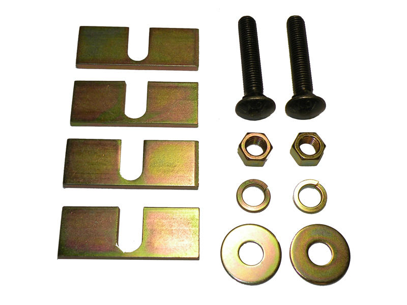 Center Bolt Kit for Base Rails