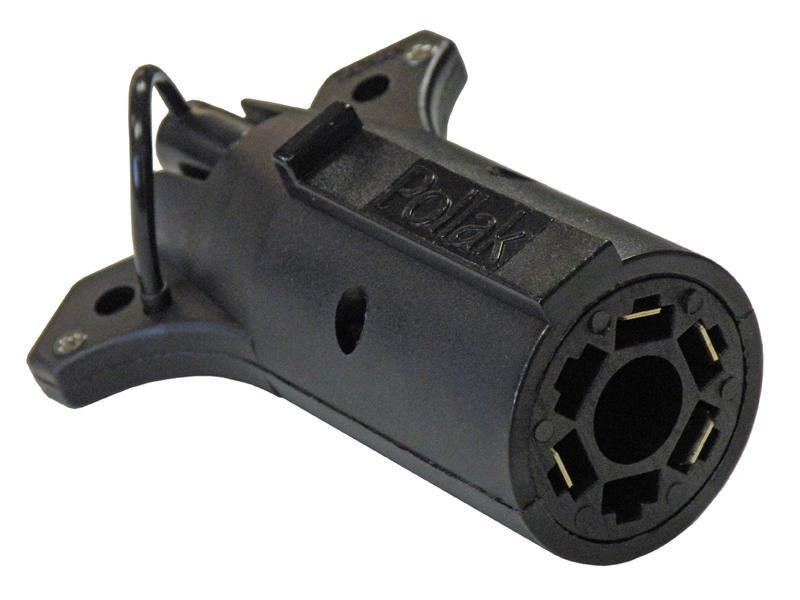 7-Way Flat Pin to 4-Flat Adapter