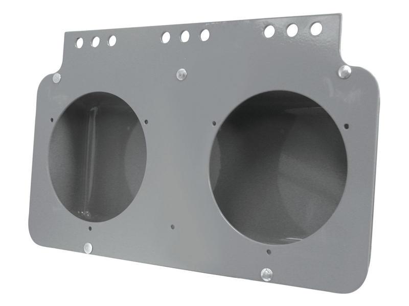 Steel Double Light Mounting Box