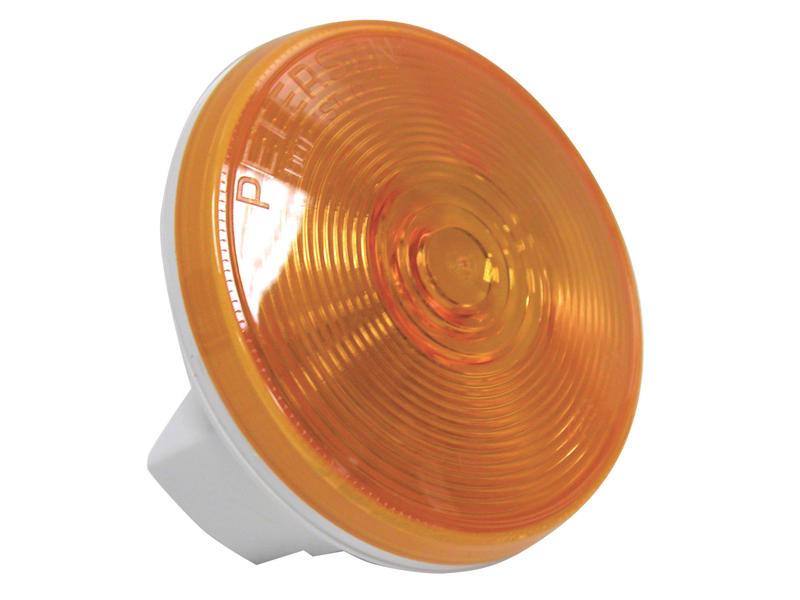 4 inch Round Amber Light