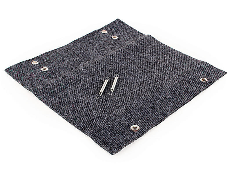 RV Wrap Around Step Rug - Grey