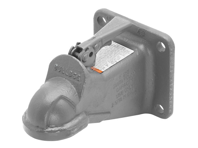 Bulldog- Flat Mount 2-5/16 Inch Cast Coupler