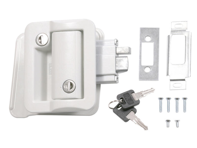 Trimark Style Flush Slam Lockset