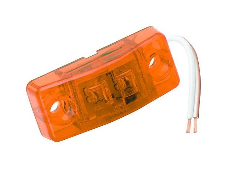 Waterproof LED Clearance/Side Marker Light- Amber