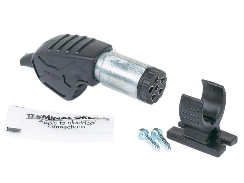 Endurance™ 6-Way Round Plug with Bracket