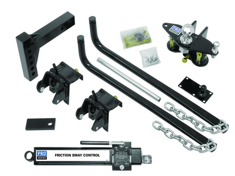 Pro Series Weight Distribution Kit With Friction Sway Control - 1,000 lb