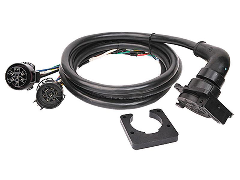 Fifth Wheel and Gooseneck Trailer 90 Degree Wiring for GM, Ford and Dodge Pickup