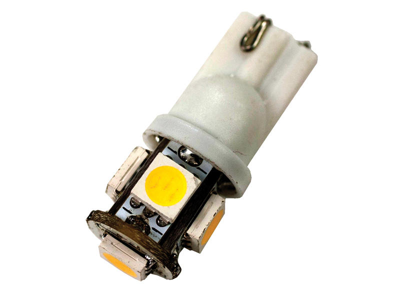 12 Volt High Efficiency L.E.D. Bulb