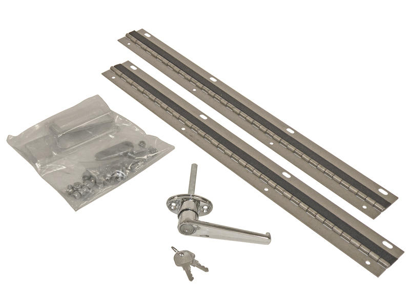 Lock and Hinge Kit for Buyers Van Partition