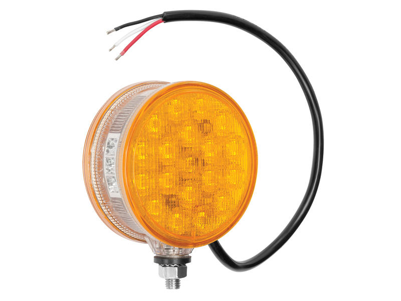 Pedestal Mount AG L.E.D. Light - Amber