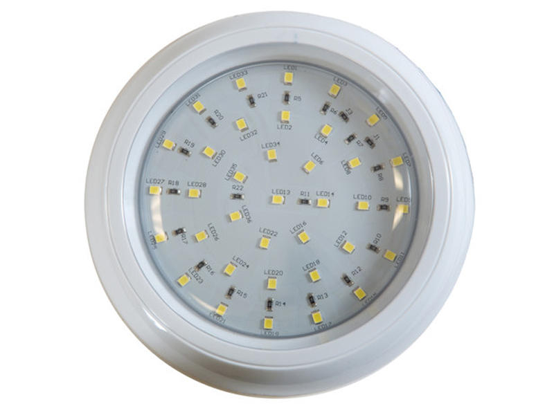 5 Inch Round L.E.D. Interior Dome Light With Switch