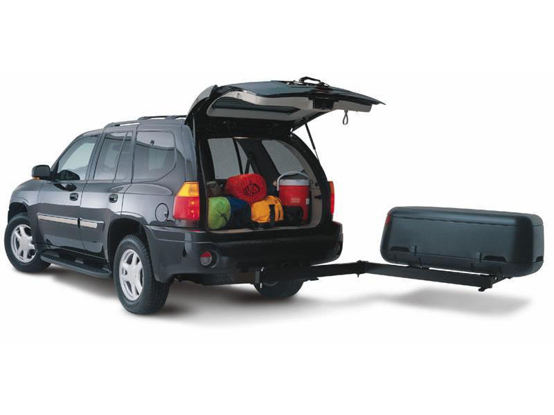 Adventure System Enclosed Swing-Away Cargo Carrier