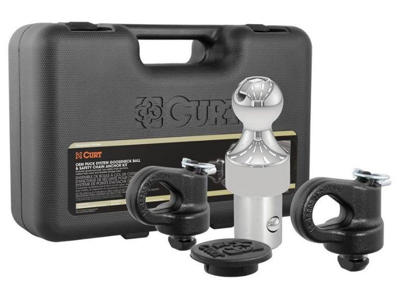 CURT OEM Puck System Gooseneck Kit for Ford, Chevrolet, GMC, Nissan (38K)