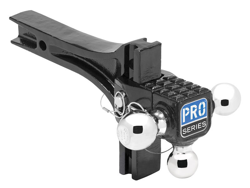 Adjustable Tri-Ball Ball Mount with Step