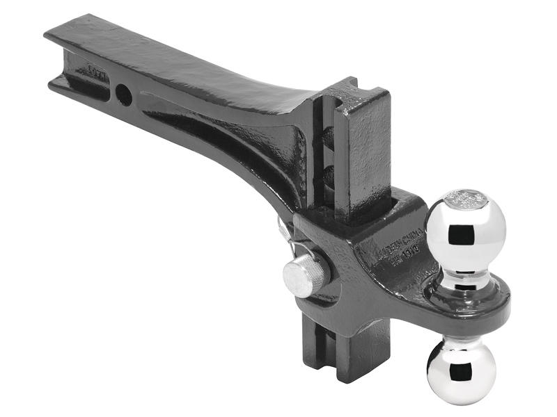 Adjustable Hitch Receiver >> Pro Series 63071 Adjustable Dual Ball Ball Mount