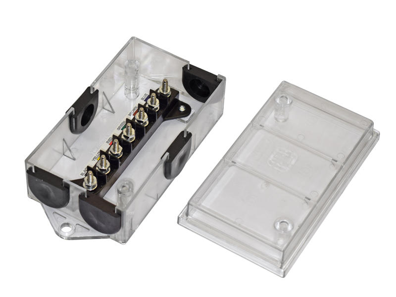 Translucent 7-Way Junction Box