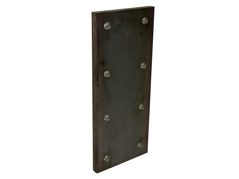 Trailer Nose Plate- 3/4 Inch Thick