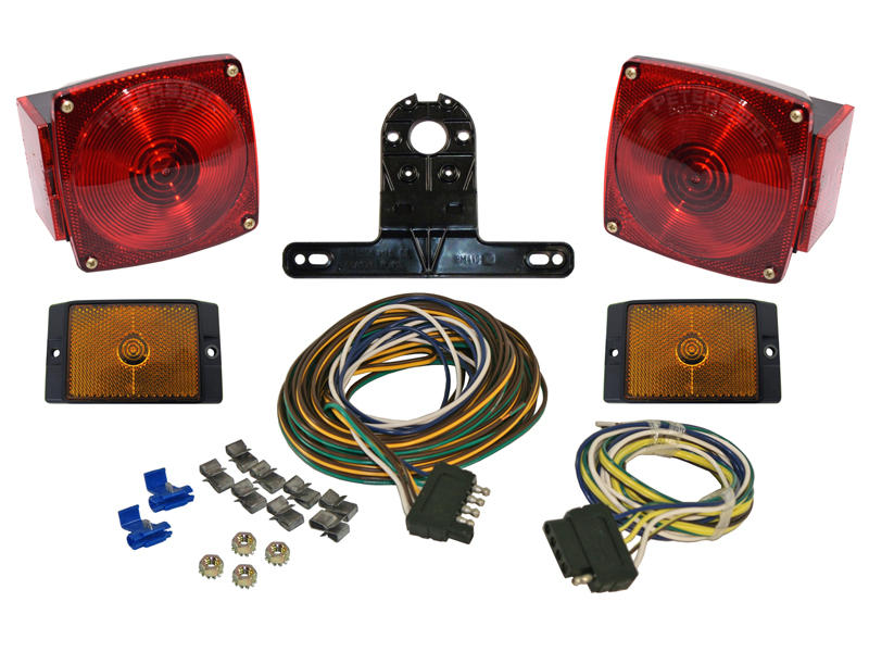 Trailer Light Kit with Wiring Harness