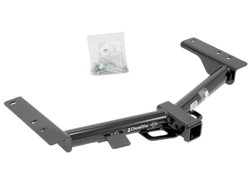 Class III/IV, Round Tube Trailer Hitch Receiver