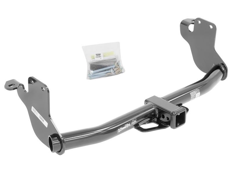 Class III Round Tube Trailer Hitch Receiver