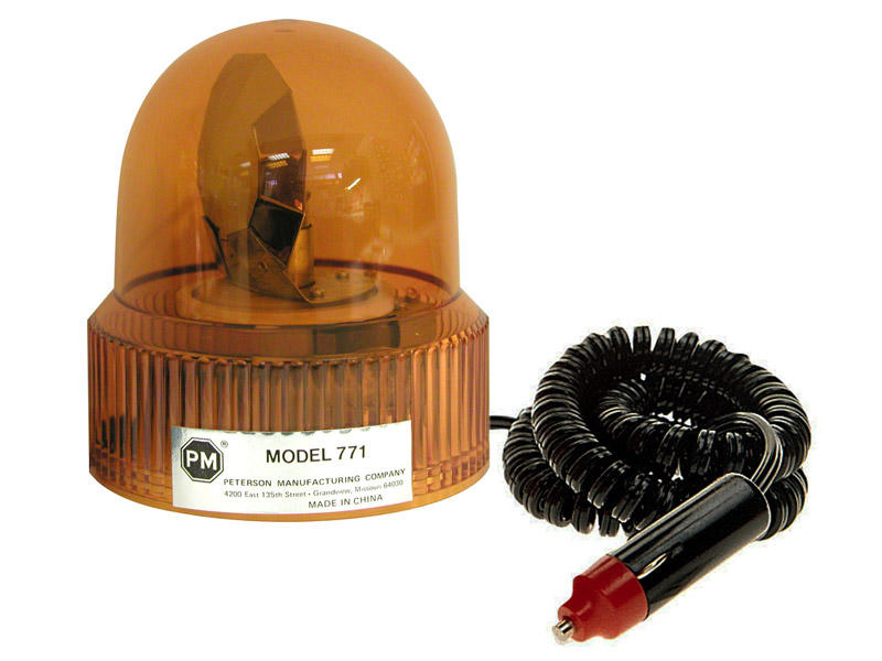 Rotating Amber Beacon- Magnetic Mount