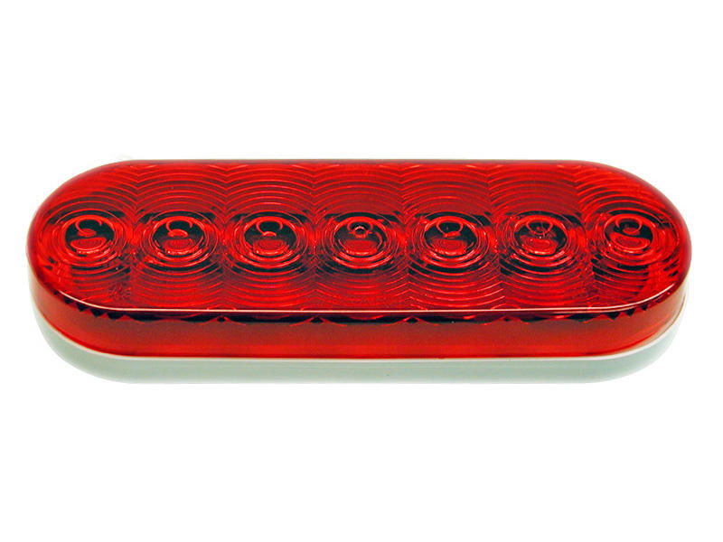 6 inch Oval LED Trailer Tail Light