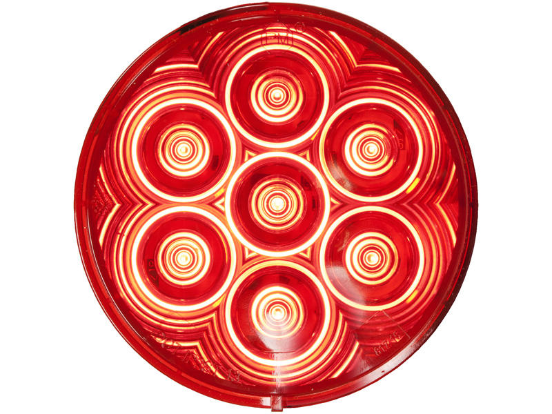 4 inch Round LED Tail Light - LumenX
