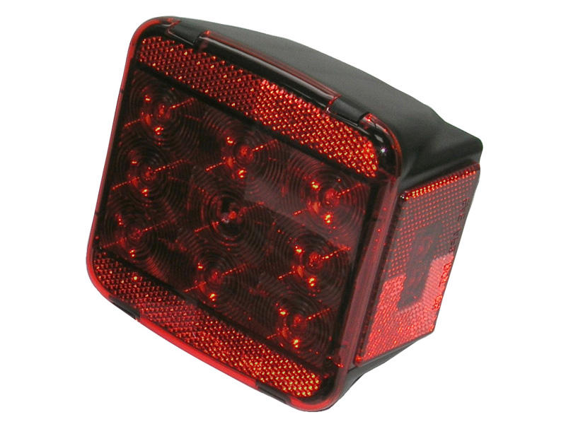 L.E.D Square Trailer Tail Light - Right