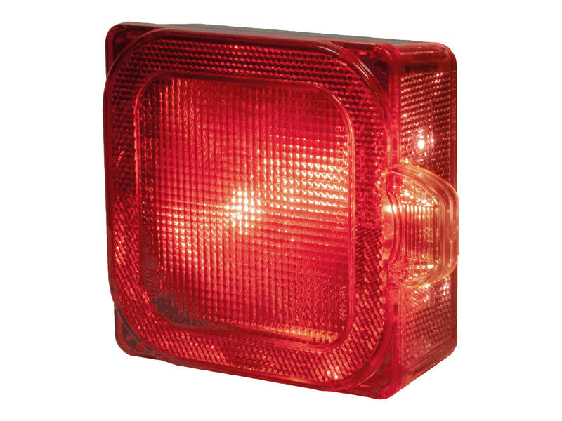 LED Square Trailer Tail Light - Right