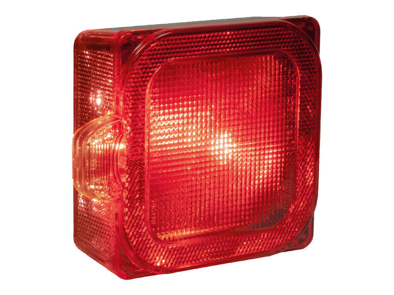 L.E.D Square Trailer Tail Light - Left