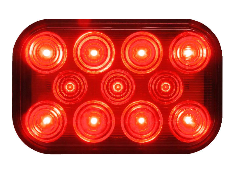 Rectangular LED Rear Tail Light
