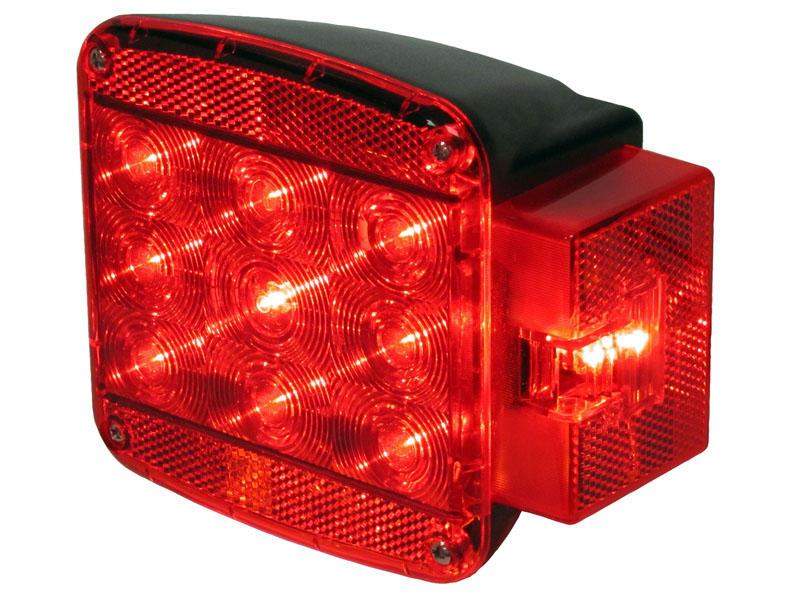 "Over 80"" Rear L.E.D. Combination Light - Passenger Side"