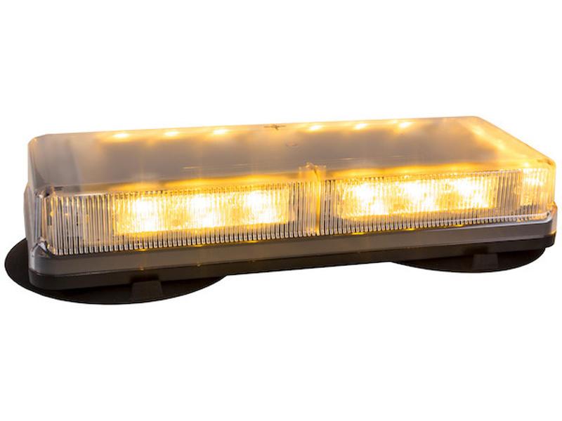Rectangular 18 L.E.D. Mini Light Bar (Magnetic Mount)