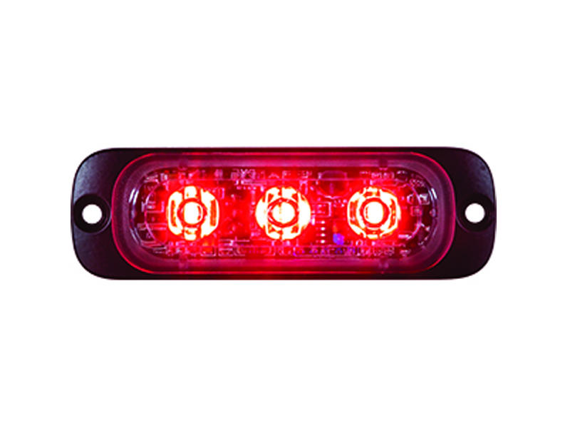 Red L.E.D. Strobe Light - Thin Mount