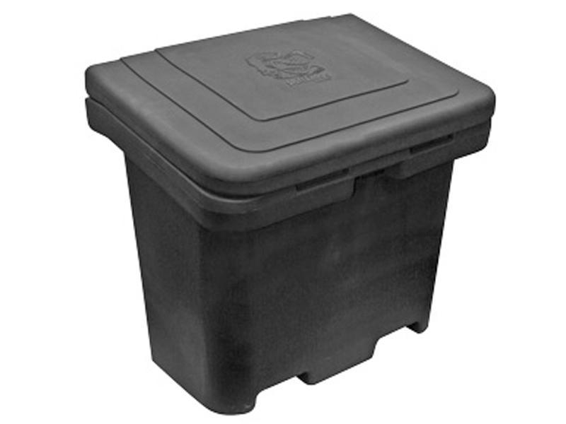 Buyers SaltDogg 8.8 Cubic Foot Poly Snow & Ice Salt/Ice-Melt Box