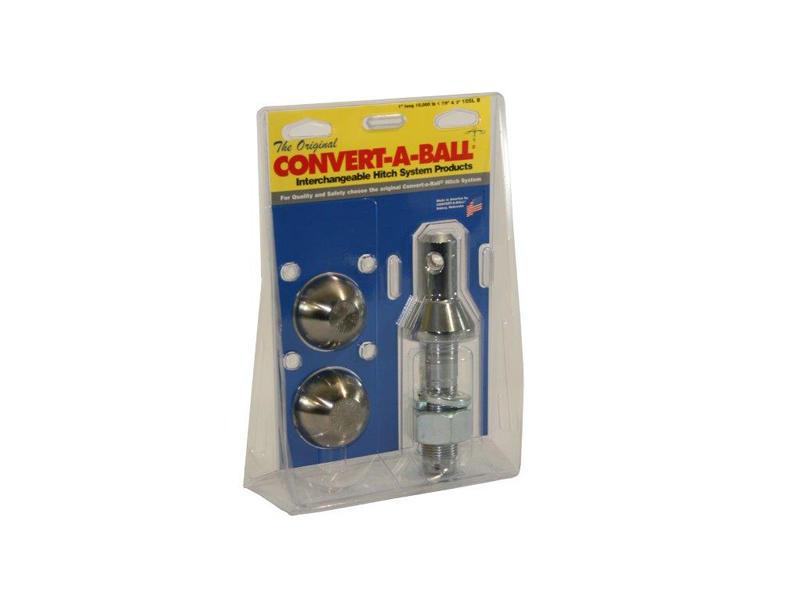 """Convert-A-Ball 2-Ball Set - Long Shank - 1-7/8"""" & 2"""" Balls"""