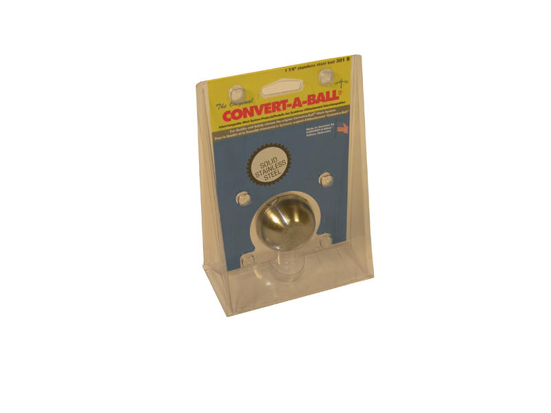 Convert-A-Ball 1 7/8 inch Stainless Steel Hitch Ball Only