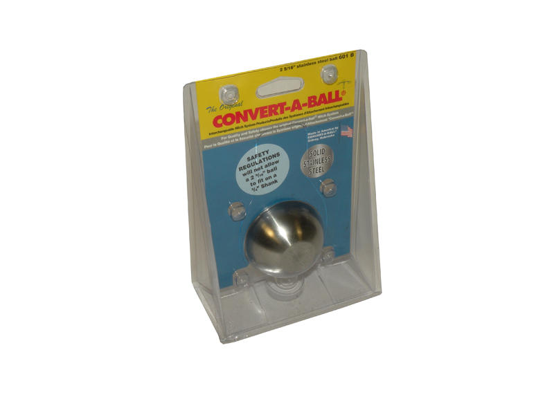 Convert-A-Ball 2 5/16 inch Stainless Steel Hitch Ball Only